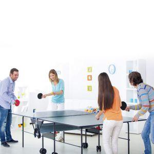 Tischtennis Schläger Ping-Pong Tischtennisschläger Set mit Bälle
