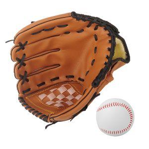Baseball Handschuh Trainings Handschuh mit Ball für Kinder Erwachsene