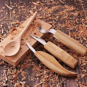 Kerbschnitzmesser Werkzeug Schnitzmesser Skulptur Schnitzen 5er Set