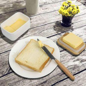Multi Funktion Butterdose Emaille Butter Boot mit Decke für Butter
