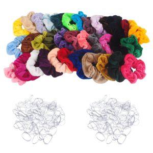 Haarbänder Haargummis 36pcs Haar Scrunchies Haarschmuck für Damen