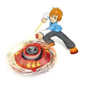 Kinder Speed Kreisel Beschleunigungslauncher Spielzeug Kampfkreisel Set