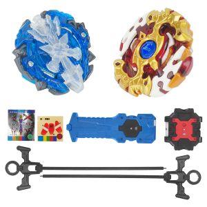 Kampfkreisel 2er Set Modell Beschleunigungslauncher Speed Kreisel