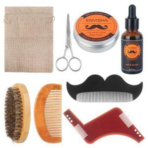 8 in 1 Bartpflege Set Bart Styling Werkzeug Weihnachten Geschenk