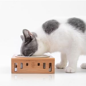 Katzennäpf Hundenäpf Futterschüssel Futterstation für Katzen Hunde