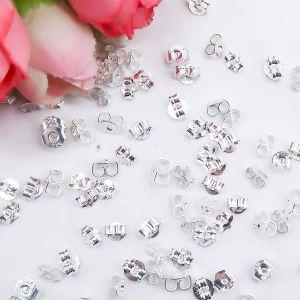 Ohrstecker Ohrstopper Basteln 30 Paar Sterling Silber Ohrring Stopper
