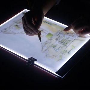 Leuchttisch LED Licht A2 Leuchtkasten Light Pad Leuchtplatte mit Kabel