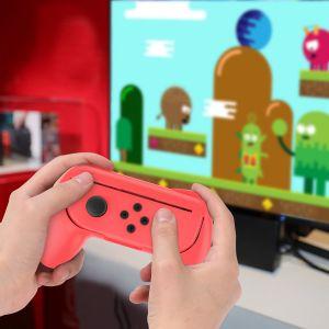 Nintendo Switch Joy Con Griff Gaming Controller 2 Stück Griff Kit