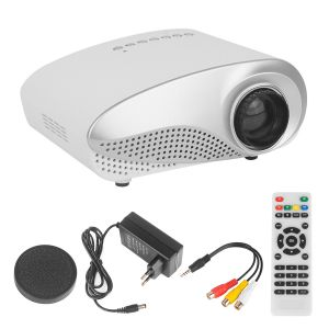 Projektor Mini LED Beamer Heimkino Videobeamer für Multimedia