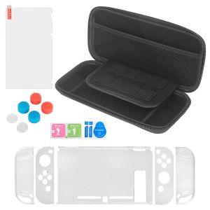 Schutzhülle Tragetasche Griff Kappen Stand Zubehör für Nintendo Switch