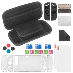 Joy-Con Controller Zubehör Set in Tasche für Nintendo Switch
