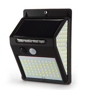 Solarlampen Wandleuchte Solarbetriebene Solarlicht 140LED für Aussen