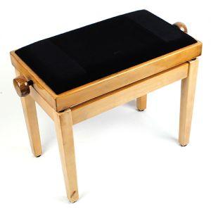 Klavierbank Klavierhocker Klavierstuhl Pianobank höhverstellbar