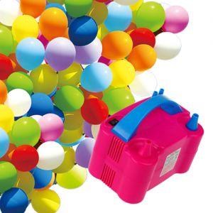 Luftballonpumpe Elektrische Aufblasgerät Luftballon Gebläse Pumpe 600W
