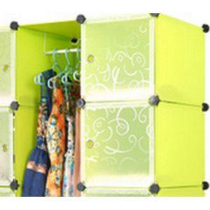 Kleiderschrank Garderobenschrank Steckregal Stufenregal für Kleidung