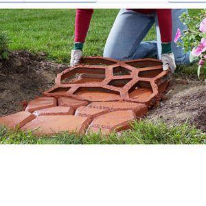Betonform Schalungsform Plastikformen Gehweg Pflasterform 44x44x4cm