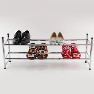 Badregal Schuhregal Schuhablage Schuhschrank Regal 2 Ebene bis 115cm