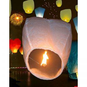 Himmelslaternen Papierlaterne Glück Skylaterne Leuchtballon 10pcs