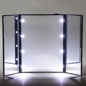 Kosmetikspiegel Schminkspiegel Make up Spiegel mit LED Licht Faltbar