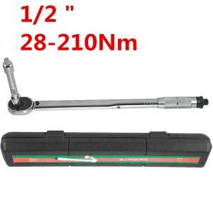 Drehmomentschlüssel Radmutternschlüssel Werkzeug Koffer 28-210Nm 3tlg