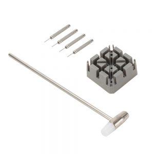Uhrmacherwerkzeug Set Uhr Reparatur Werkzeugset Stiftausdrücker 6tlg