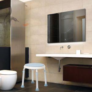 Duschhocker Duschstuhl Badsitz Duschhilfe Duschsitz Höhenverstellbar
