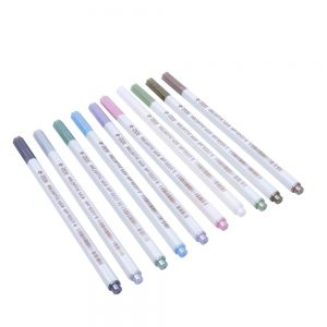 Marker Pens Metallic Marker Stifte von 10 Farben für DIY Fotoalbum