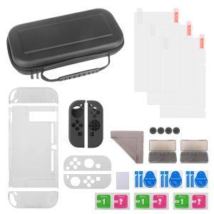 Zubehör Nintendo Switch Tasche Game Card Schutzhülle Silikon 11in1