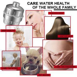 Duschfilter Shower Filter 10 Schichten Wasserfilter Kalkfilter Zubehör