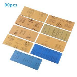 Sandpapier Schleifpapier Sortiment-Set 90pcs für Automotive Schleifen