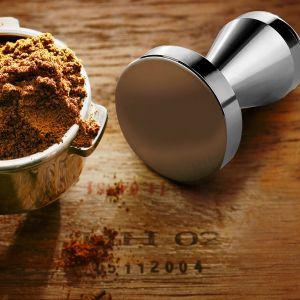 Kaffee Espresso Tamper Kaffeemehlpresser Druck Küchen Zubehör 51mm