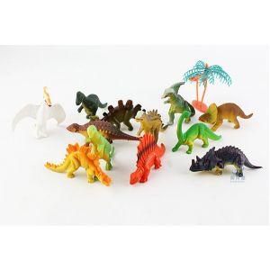 Realistische Dinosaurier Figur Tyrannosaurus 12pcs Set für Kinder