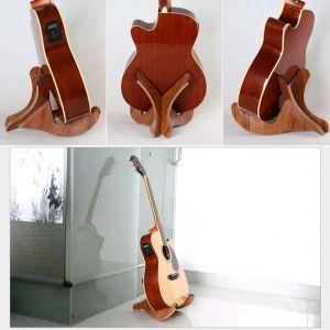 Holzklappständer Gitarrenständer Gitarrenzubehör Ständer Für Gitarre