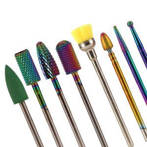 8pcs Nagelfräser Schleifköpfe Set für Pediküre Nagelfeilenmaschine