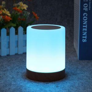 Nachttischlampe LED NachtLicht Stimmungslicht Schreibtischlampe dimmbar
