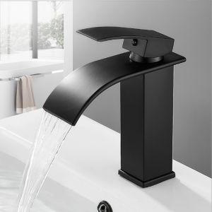 Badarmatur Wasserfall Einhebelmischer Waschbecken für Badezimmer