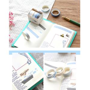 Washi Tape Klebeband 40 Rollen für Handwerk, Deko Klebeband 3m x 1cm Buntes Klebebänder DIY Scrapbook