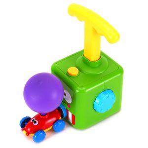 Ballon Auto Spielzeug Luft Ballonpumpe Kinder Trägerraketen Kinder Ballon Trägheitsspielzeug Kind Geschenk Lernspielzeug