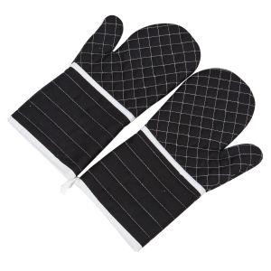 1 Paar Topfhandschuhe Ofenhandschuhe Handschuhe bis 250°C Backhandschuhe Kochhandschuhe Küche