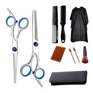 Haarschneideschere Haarschere Set 10tlg. Friseurscheren scharf Haarschere Haarschneideschere Schere Haare Schneiden Set