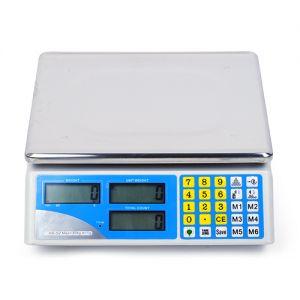Zählwaage Digitalwaage Ladenwaage Marktwaage Präzisionswaage 30kg/1g