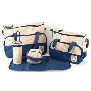 Babytasche Set Pflegetasche Tragetasche Wickeltasche Windeltasche 5tlg