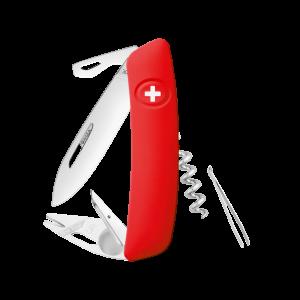 Swiza Taschenmesser Klappmesser Schweizer Messer TT03 rot