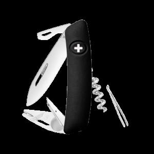 Swiza Taschenmesser Klappmesser Schweizer Messer TT03 schwarz