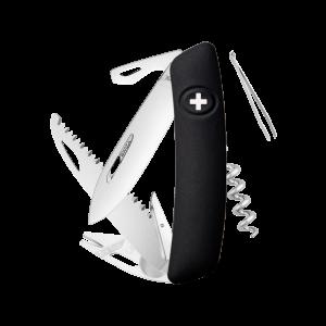 Swiza Taschenmesser Klappmesser Schweizer Messer TT05 schwarz