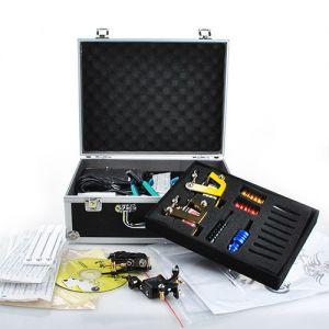 Tattoomaschine Set mit 4 Tätowiermaschine Komplett Kit für Anfänger