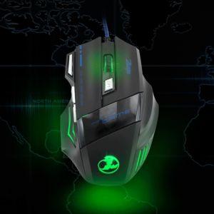 Gaming Maus Optical Mouse Laptop Maus Mute-Maus mit 7 Tasten für PC
