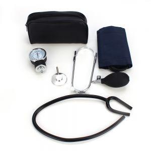 Blutdruckmessgerät Stethoscope Pumpball Manometer f. Rettungsdienst