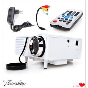 Beamer Projektor Mini Beamer Videoprojektor HD 1080P LED+LCD Tragbar
