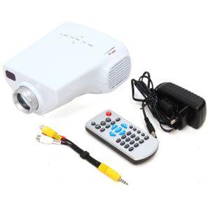 Heimprojektor Mini Beamer Projektionsgerät Videoprojektor tragbar
